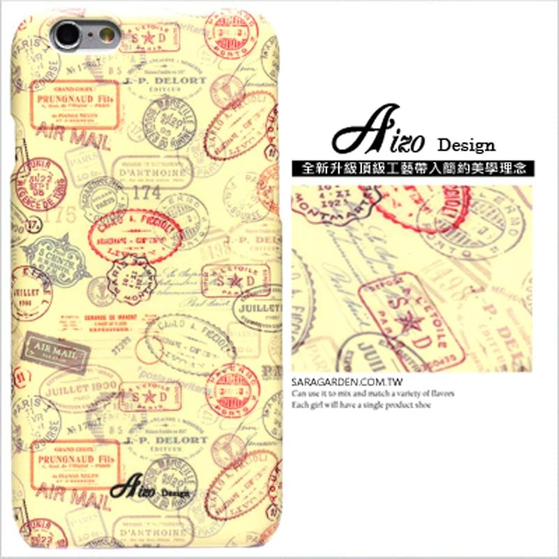【AIZO】客製化 手機殼 蘋果 iPhone 6plus 6SPlus i6+ i6s+ 美式 郵戳 徽章 保護殼 硬殼
