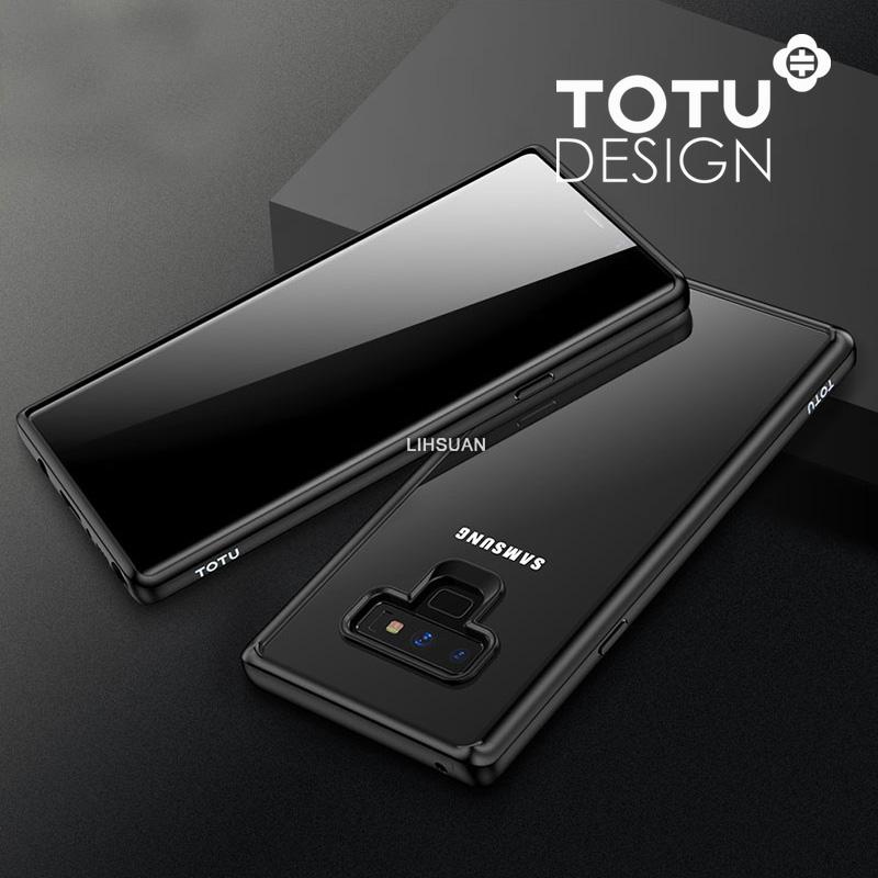 【TOTU台灣官方】Note9防摔手機殼 晶彩系列 黑色