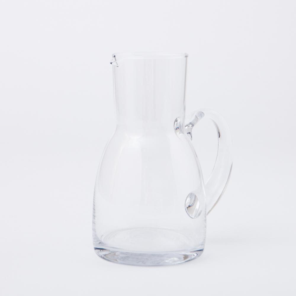 Clear壺形手工花瓶H21cm-生活工場