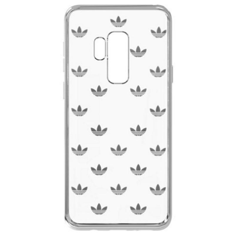 SAMSUNG Galaxy S9+adidas logo 透明背蓋
