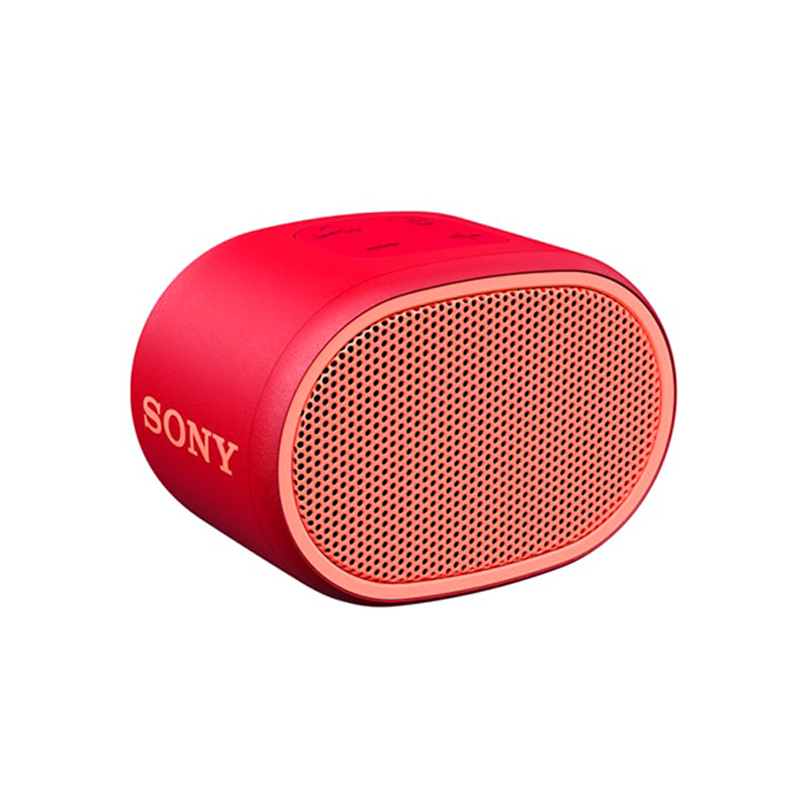 【SONY 索尼】SRS-XB01 可攜式防水 藍芽喇叭 紅色
