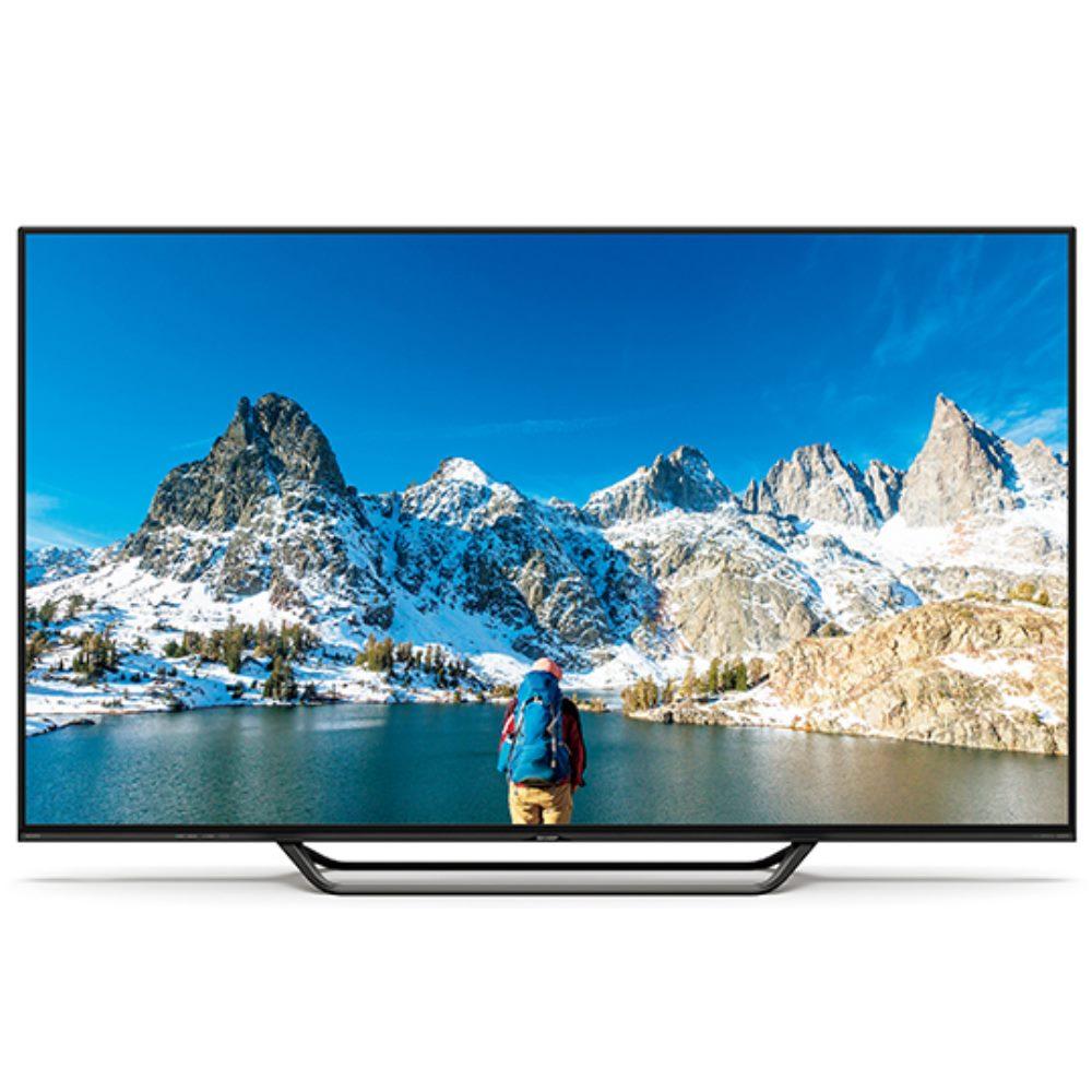含標準安裝SHARP夏普70吋8K聯網液晶顯示器+視訊盒LC-70X500T