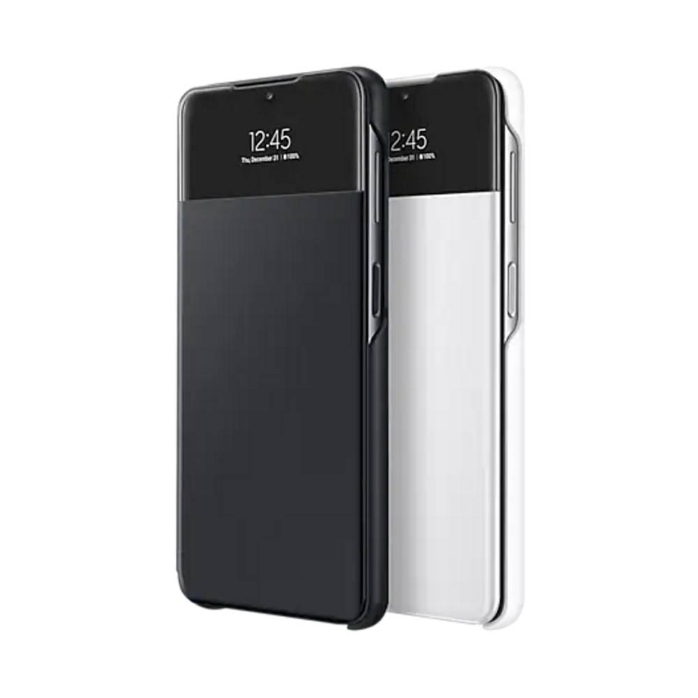 SAMSUNG Galaxy A32 5G透視感應皮套 白