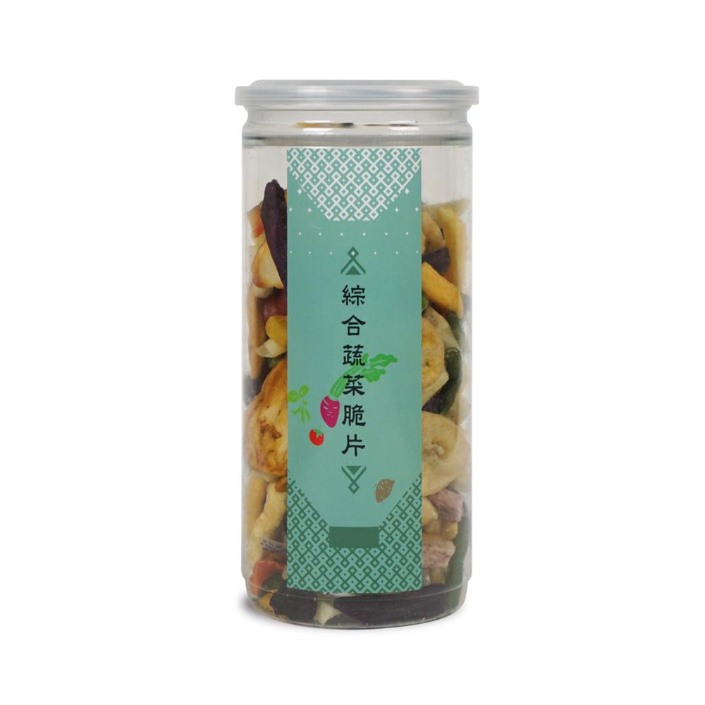 【棗到杏福】綜合蔬果脆片 200g x 2入