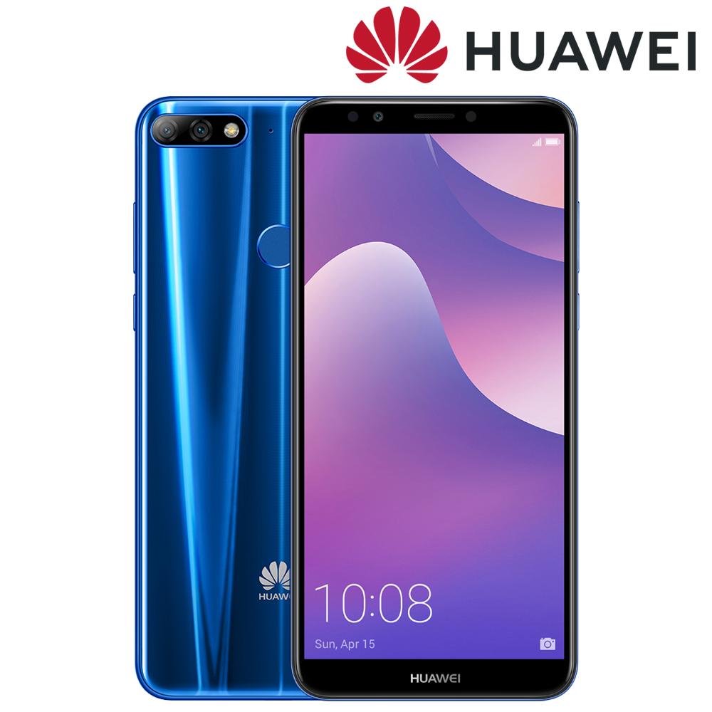 Huawei Y7 Prime(2018) 5.99吋 3G/32G 智慧型手機-藍色 加贈Bialetti 經典摩卡壺(MOKA)2杯份