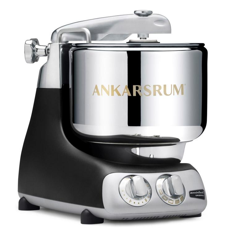(獨家:贈玻璃快煮壺)瑞典原裝【Assistent Original】頂級奧斯汀 7公升全功能桌上型攪拌機 AKM6230 (黑色)