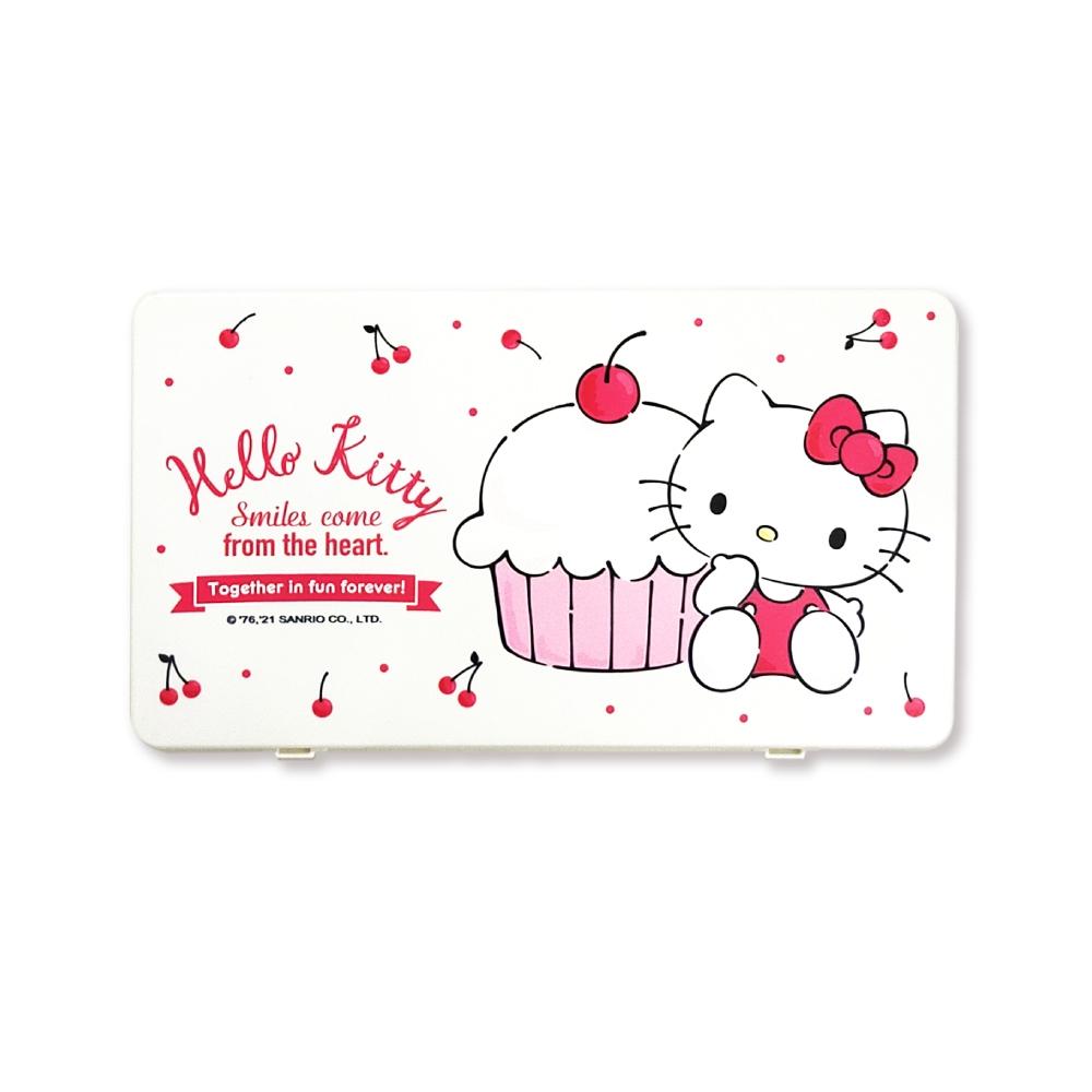 三麗鷗正版授權 Hello Kitty 口罩收納盒 2入組