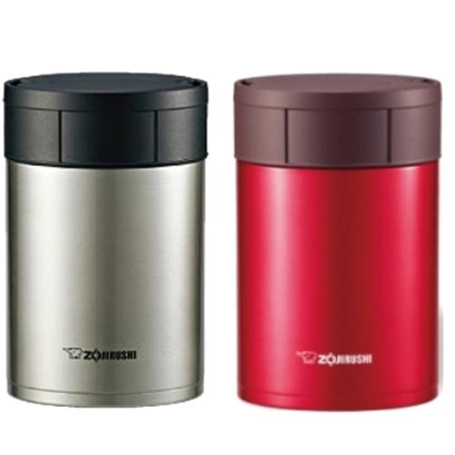 象印550ml可分解杯蓋不鏽鋼真空燜燒杯燜燒杯SW-HAE55/SW-HAE55-RM(紅色)