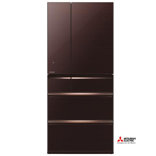 三菱705L日本原裝變頻六門電冰箱MR-WX71Y水晶棕(BR)