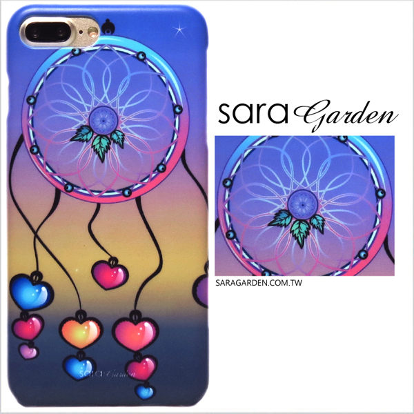 【Sara Garden】客製化 手機殼 華為 P20 Pro 保護殼 硬殼 愛心漸層捕夢網