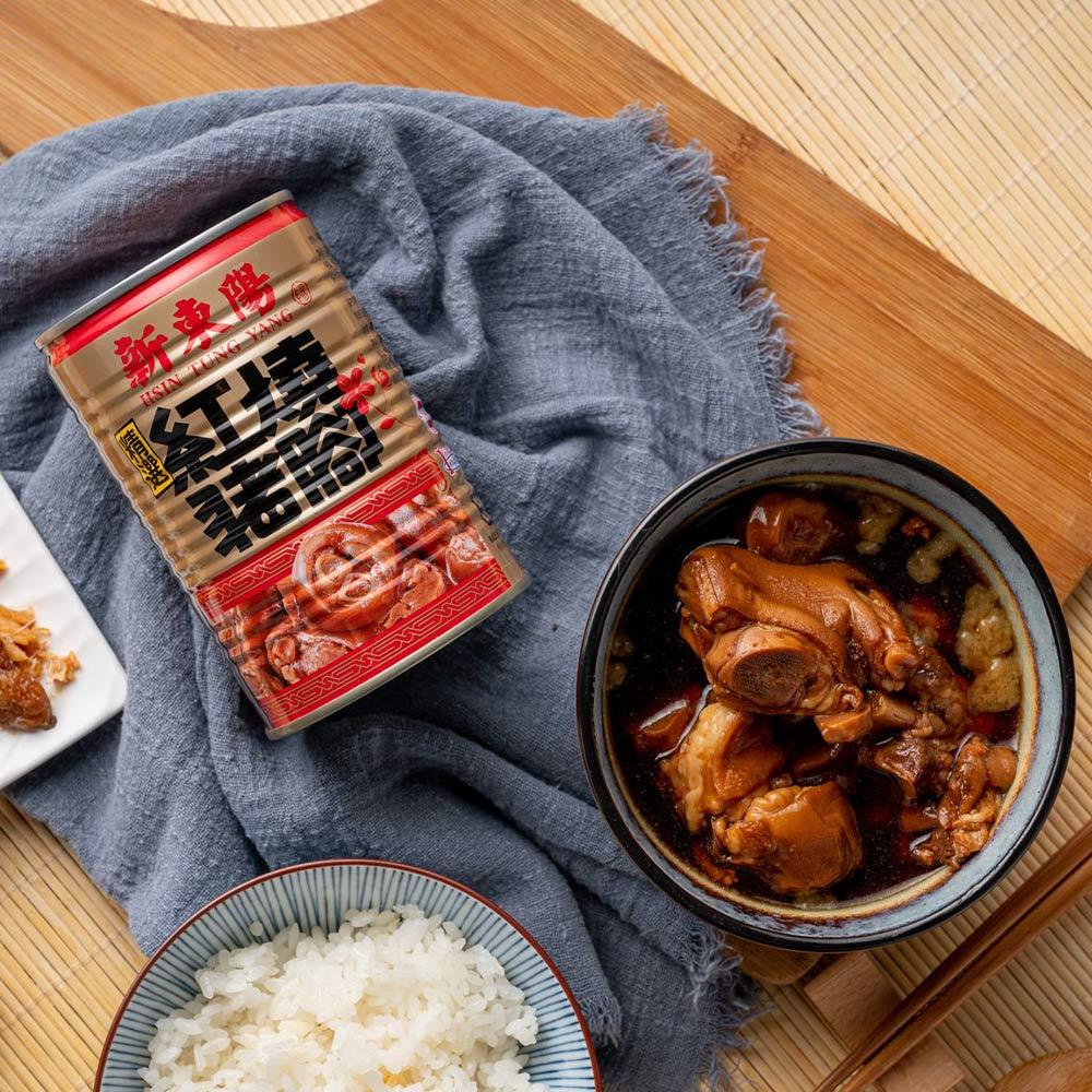 【新東陽】紅燒豬腳 (425g*12罐)