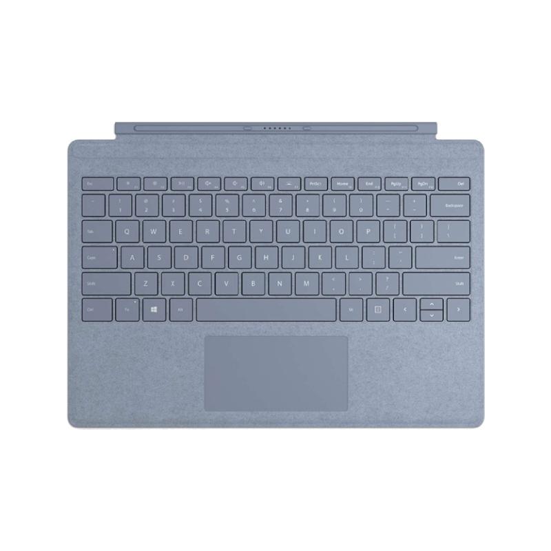 Microsoft Surface Pro 實體鍵盤 冰雪藍