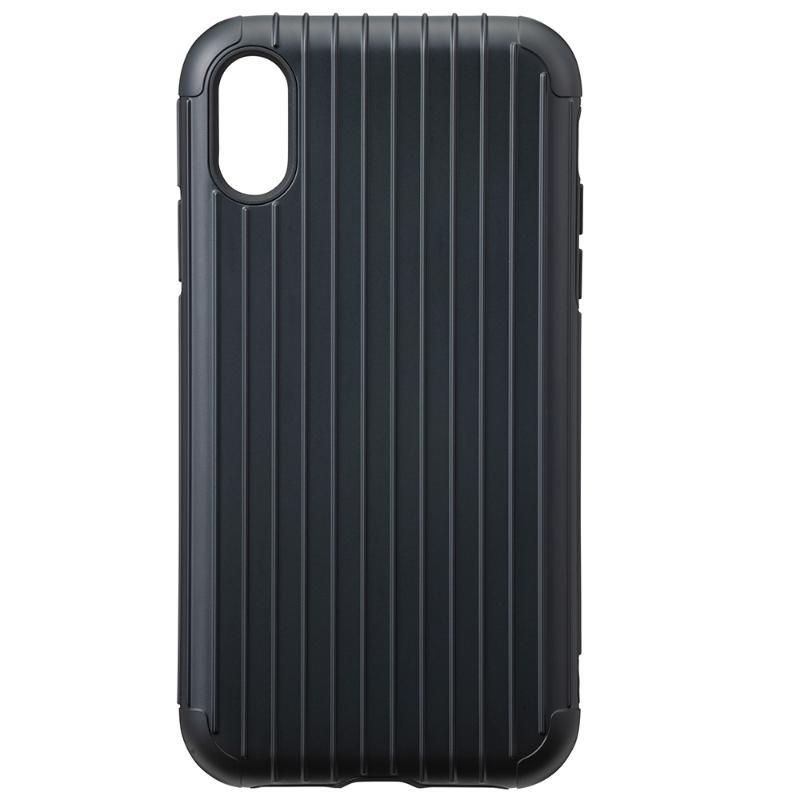 Gramas iPhone X/Xs  經典手機殼 Rib 霧黑