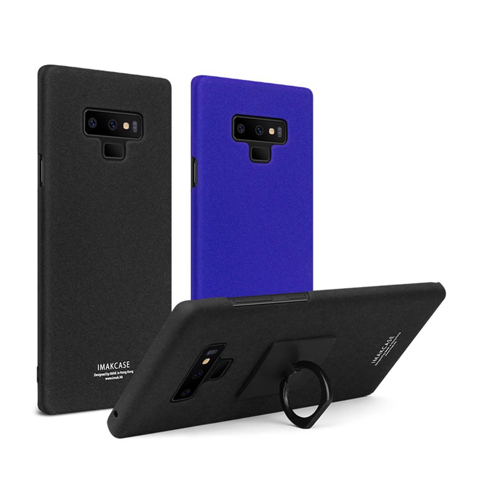 Imak SAMSUNG Galaxy Note 9 創意支架牛仔殼(磨砂藍)