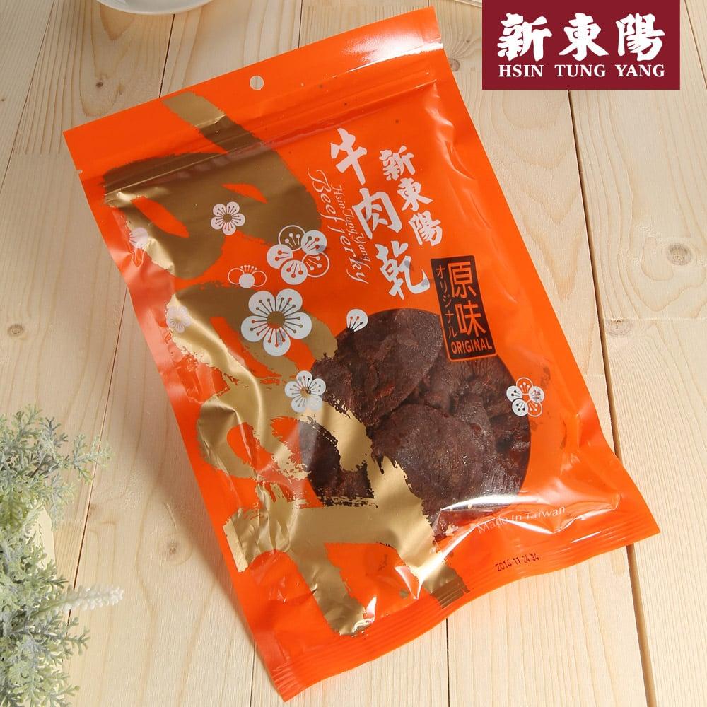 【新東陽】原味牛肉乾 (230g*2包),免運
