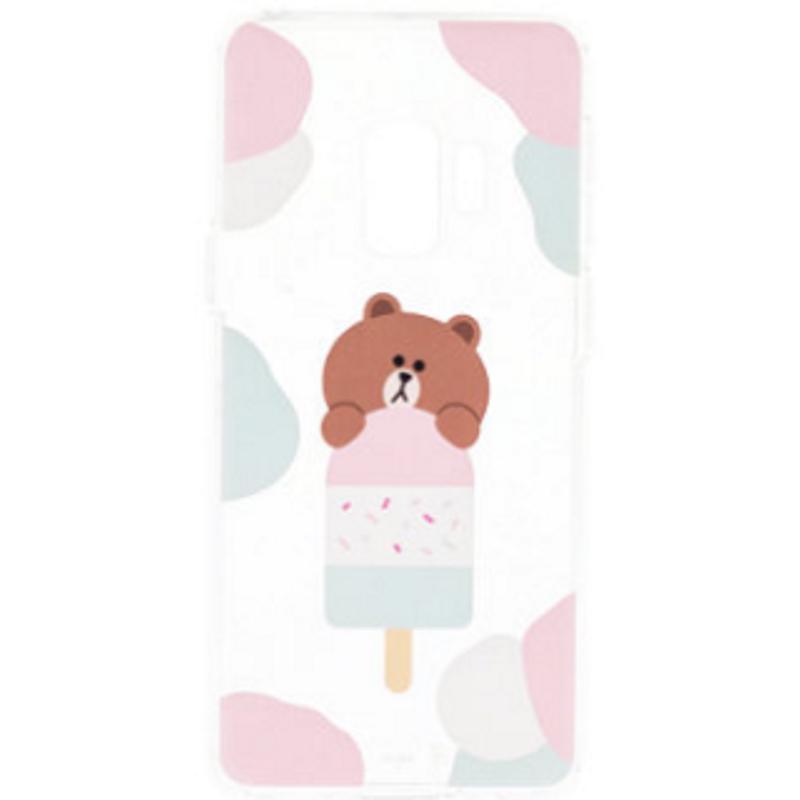 SAMSUNG Galaxy S9 LINE  Brown熊大FRIENDS 冰淇淋背蓋