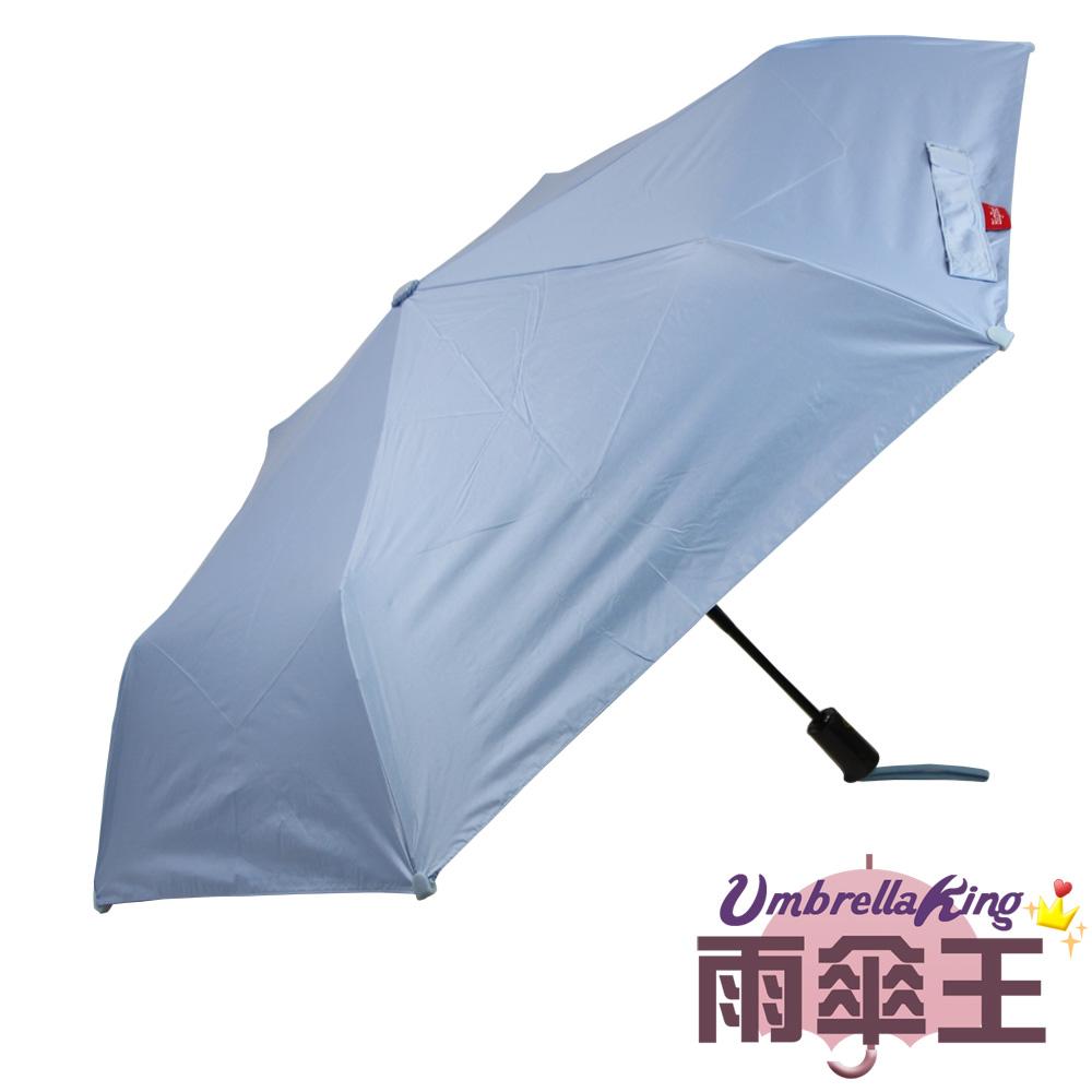 【雨傘王】BigRed 安全不戳人-粉末藍(終身免費維修)