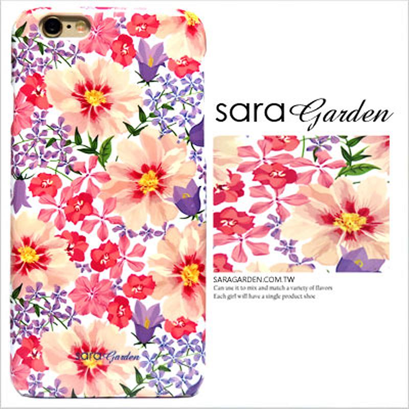 【Sara Garden】客製化 手機殼 HTC M9+ M9plus 馬卡龍 清新 雛菊 保護殼 硬殼 限定