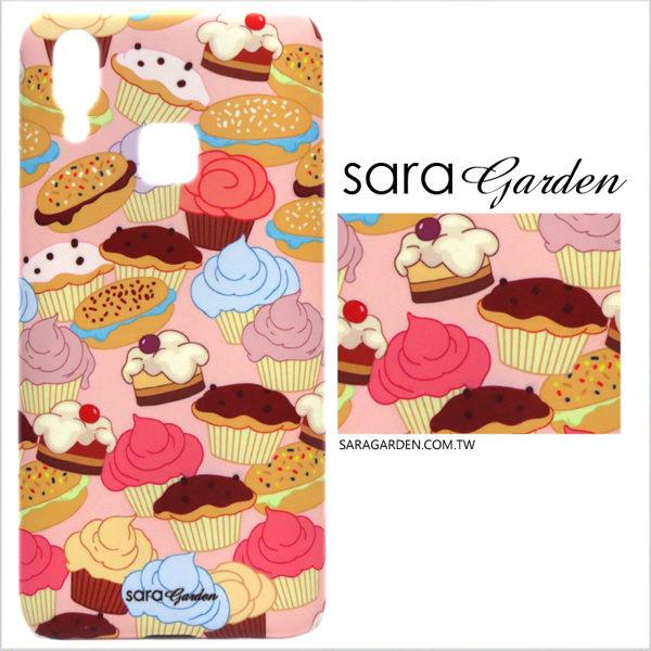 【Sara Garden】客製化 手機殼 SONY XA2 Ultra 保護殼 硬殼 可愛杯子蛋糕