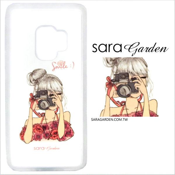 客製化 光盾 手機殼 Samsung 三星 S9+ S9plus 透明防滑紋 保護套 軟邊 防摔殼 手繪質感女孩