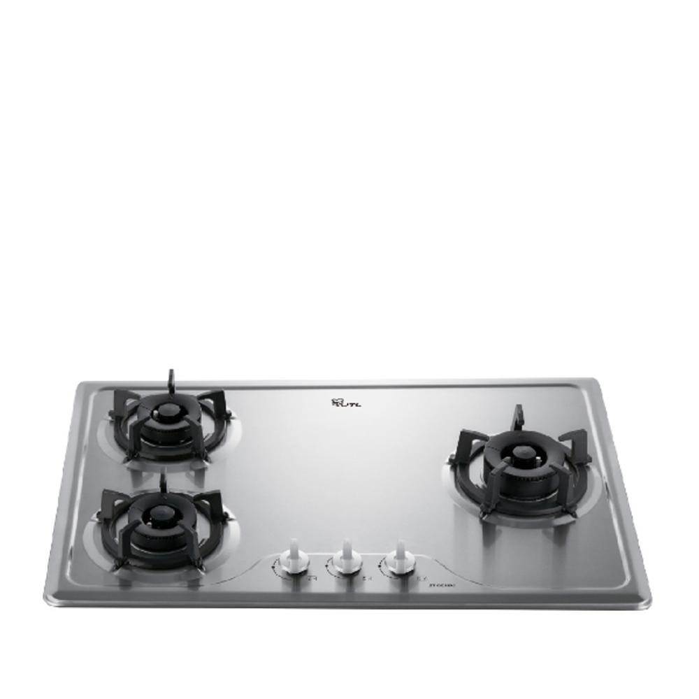(全省安裝)喜特麗三口爐檯面爐(與JT-GC309S同款)瓦斯爐桶裝瓦斯JT-GC309S_NG1