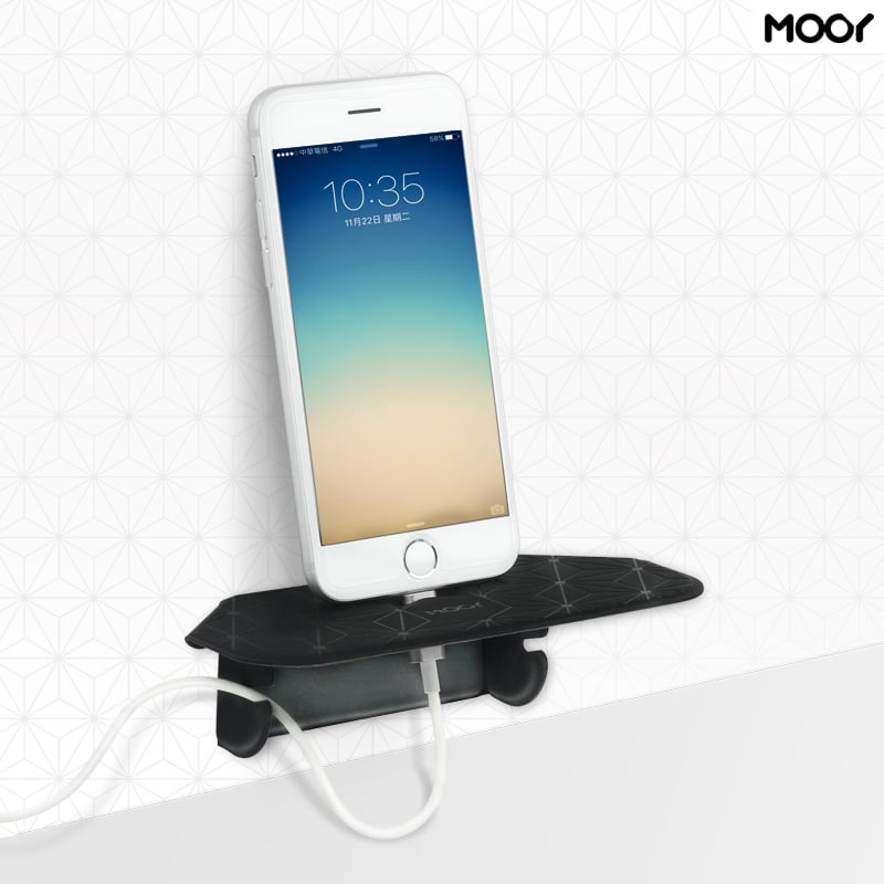 【台灣 MOOY】Plank小力士磁吸置物架