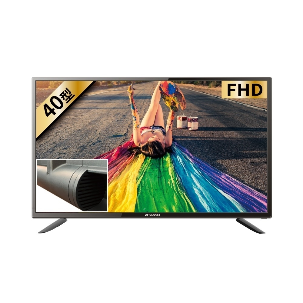 山水43吋4K電視SLED-4076(無安裝)