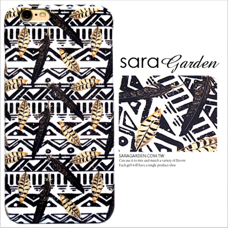 【Sara Garden】客製化 手機殼 蘋果 iPhone 12 (6.1吋) i12 民族風 捕夢網 羽毛 圖騰 保護殼 硬殼