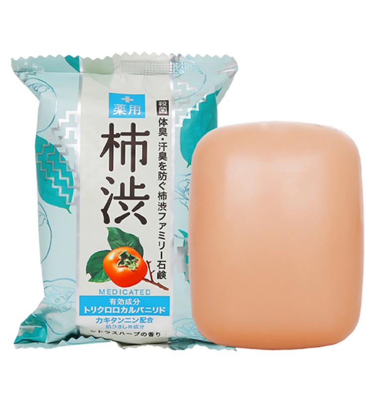 【olina】Pelican 沛麗康 柿涉抗菌植物精油皂(80g)