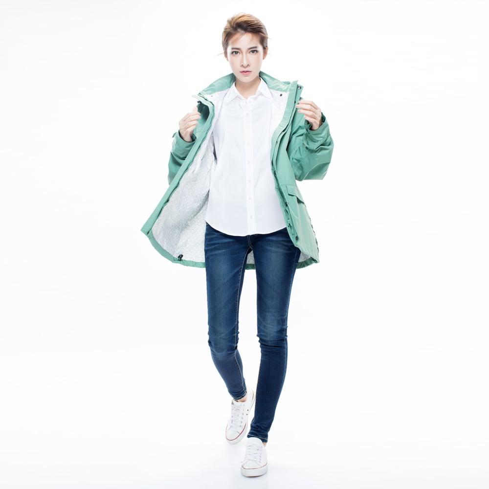 MORR時尚機能風雨衣(尺寸2L) - 機能外套 Metropolis 機能防水外套_青石綠
