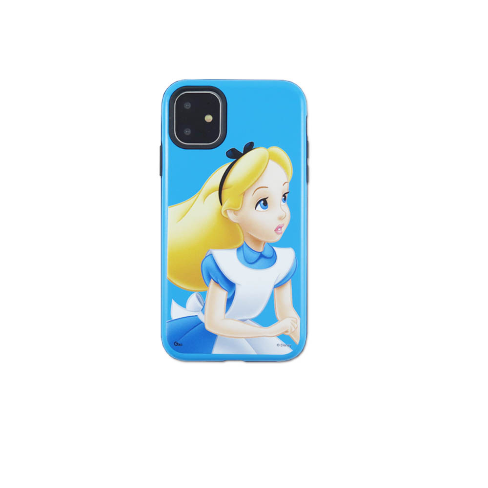 Disney迪士尼iPhone11Promax系列磨砂雙料殼_愛麗絲