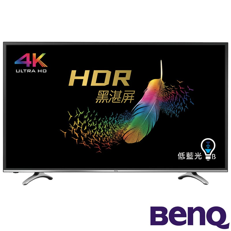 BenQ 49吋 4K HDR護眼連網大型液晶顯示器+視訊盒49MR700(含桌機安裝+東元吸塵器XYFXJ060+快煮壺XYFYK170)