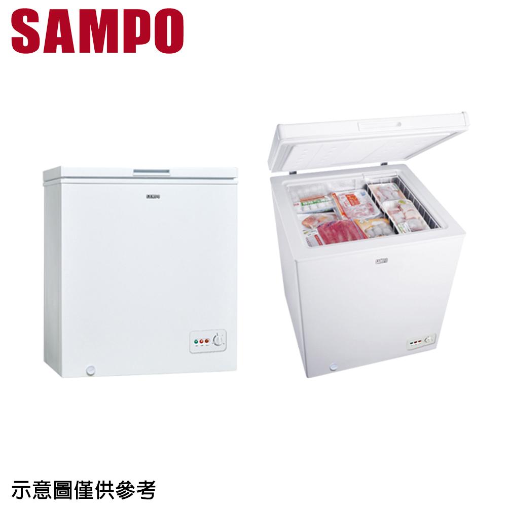 【SAMPO聲寶】150公升上掀式冷凍櫃SRF-151G