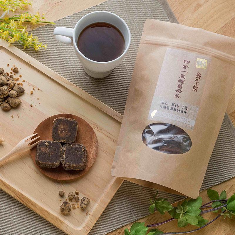 【買六送一】糖鼎養生茶超值六入組贈輕巧包-黑糖薑母茶(四合一)