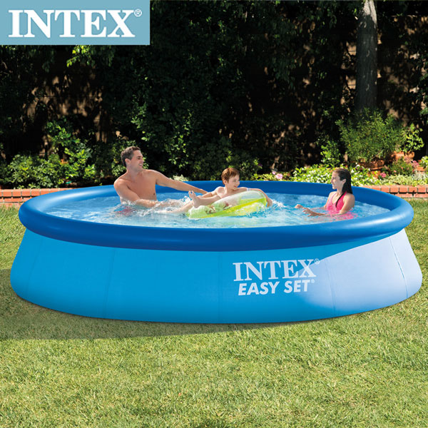【INTEX】簡易裝EASY SET大型游泳池-附濾水泵366x76cm(5621L)(28131)