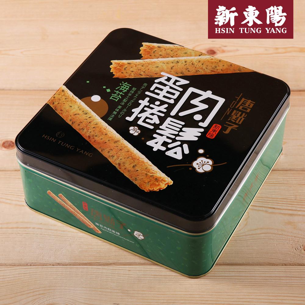【新東陽】海苔肉鬆蛋捲禮盒(34gx9入*6盒)