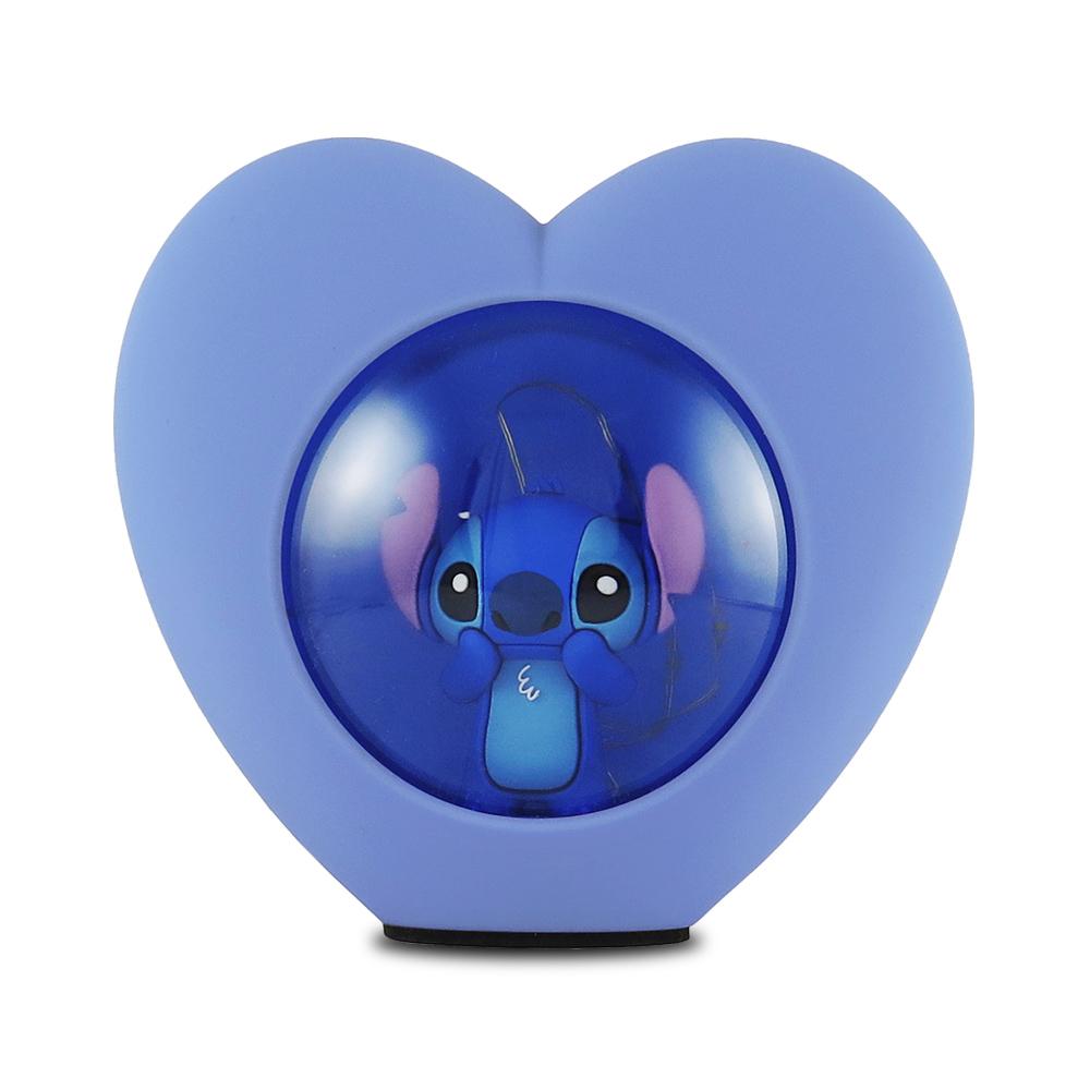 Disney迪士尼LED USB心型小夜燈_史迪奇