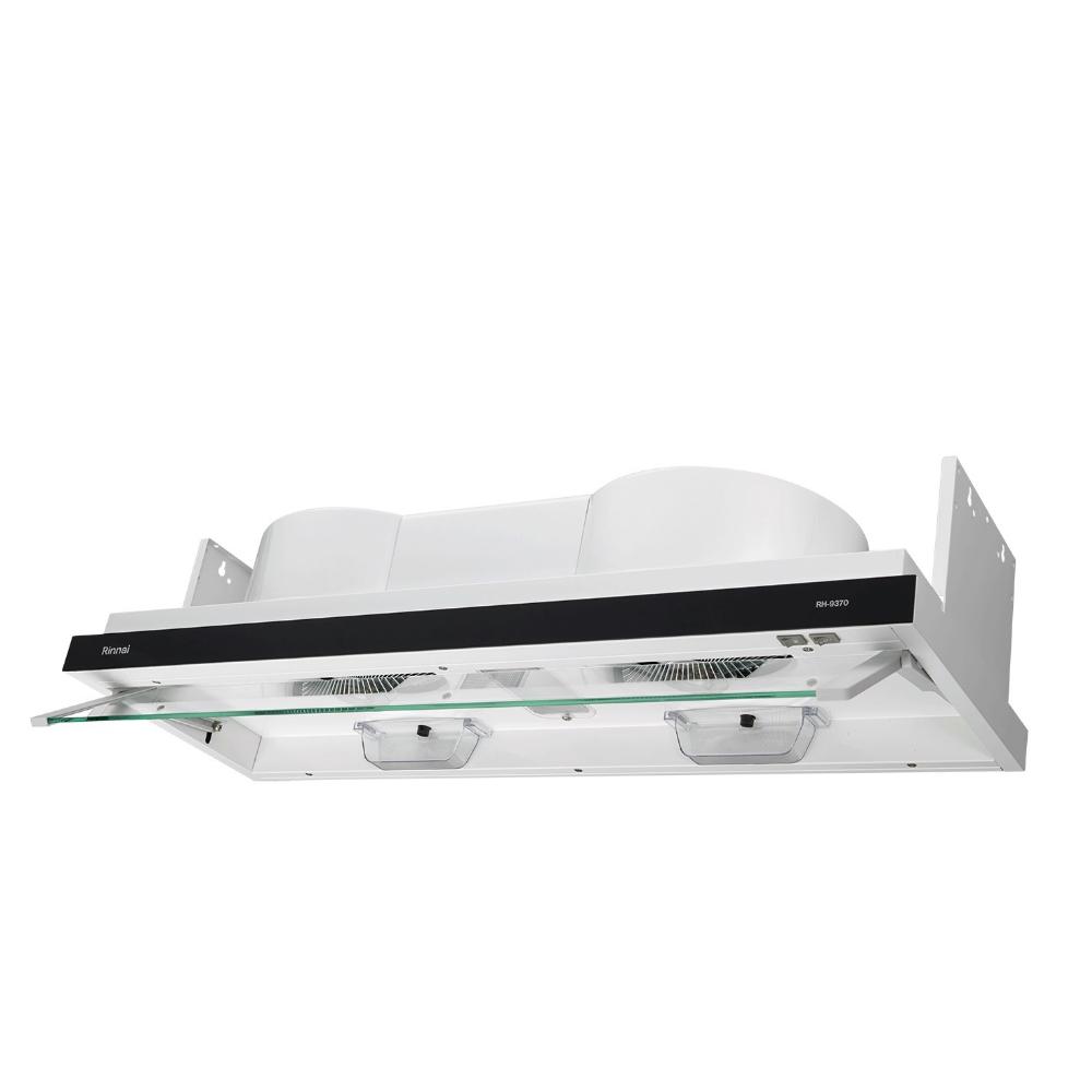 (全省安裝)林內隱藏式電熱除油90公分排油煙機RH-9370