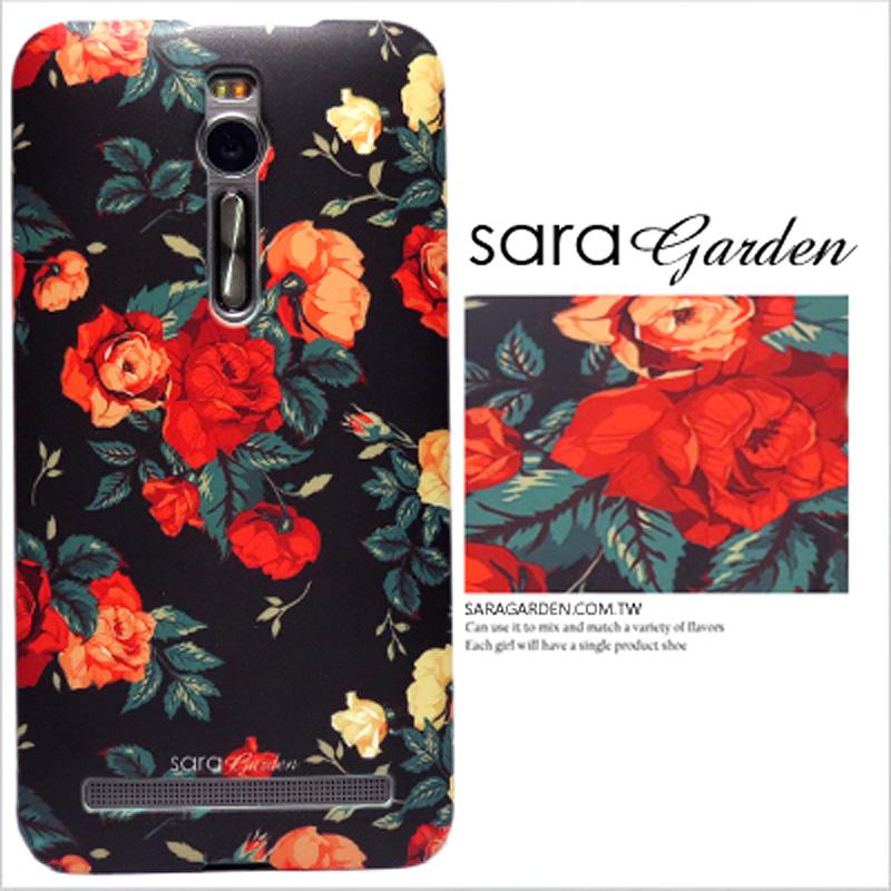 【Sara Garden】客製化 手機殼 小米 紅米5 質感 碎花 玫瑰花 保護殼 硬殼