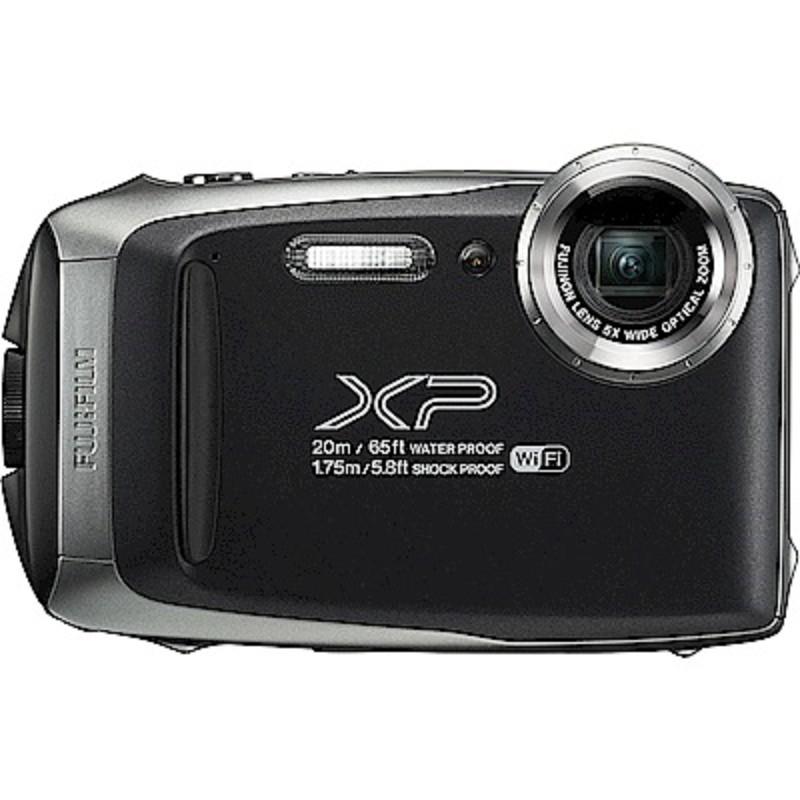 FUJIFILM XP140 防水潛水相機 -黑色 恆昶公司貨 送32G高速卡+專用電池+專用座充+自拍棒+清潔組+保護貼+讀卡機+原廠相機包