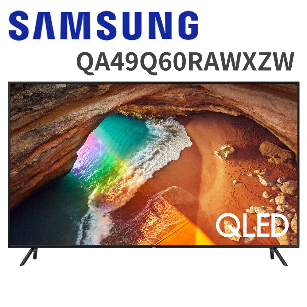 【送基本安裝+奇美空氣清淨機+OVO藍芽耳機】三星 49吋 4K QLED量子聯網液晶電視(QA49Q60RAWXZW)