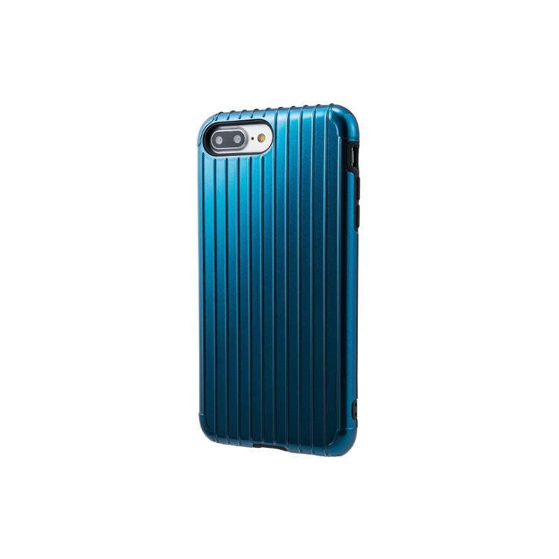 Gramas iPhone 8Plus/7Plus 經典手機殼 Rib 藍