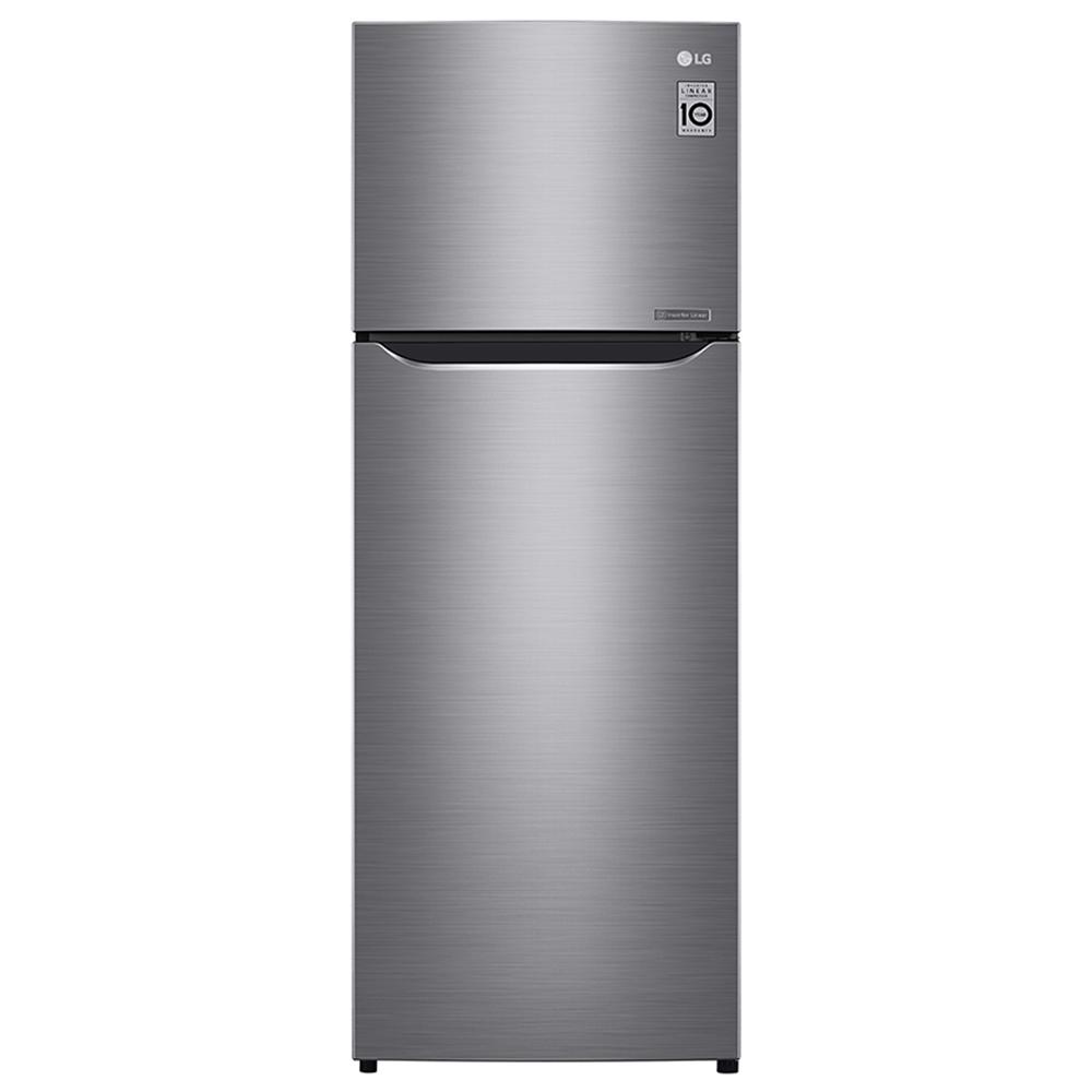 直驅變頻上下門冰箱 / 星辰銀/208公升 LG GN-L297SV(贈愛佳寶分格耐熱盒)