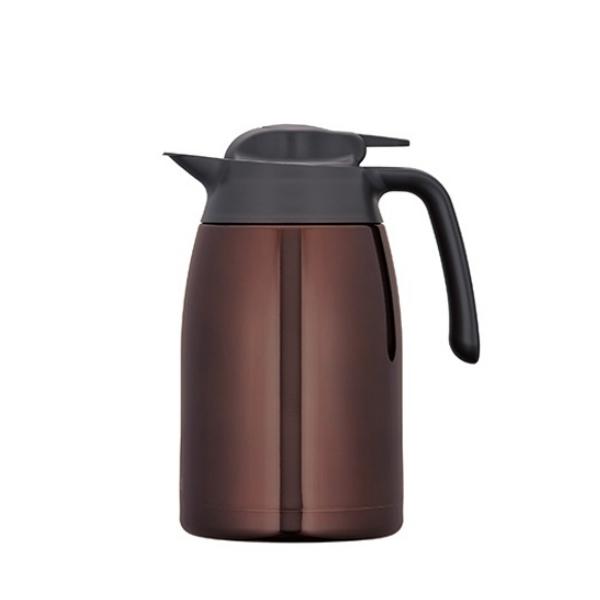 【膳魔師】1500ml不銹鋼真空保溫壺 咖啡色 THV-1500-CBW/THV-1501