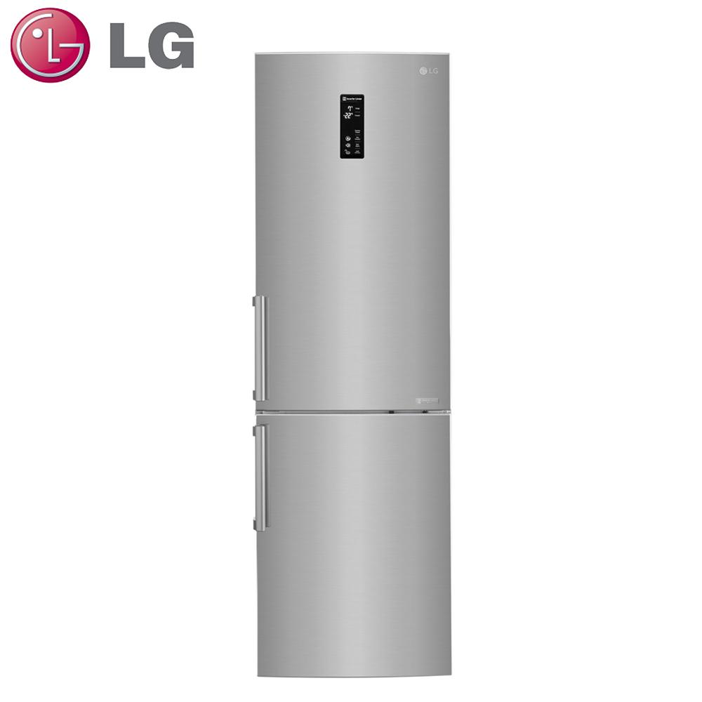 原廠好禮送★【LG樂金】350L變頻上下門冰箱GW-BF388SV