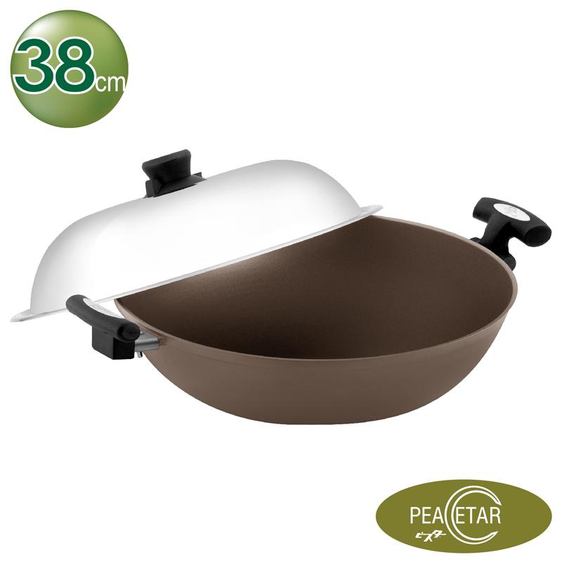 必仕達PEACETAR 輕食主義二代 深型料理鍋 38cm