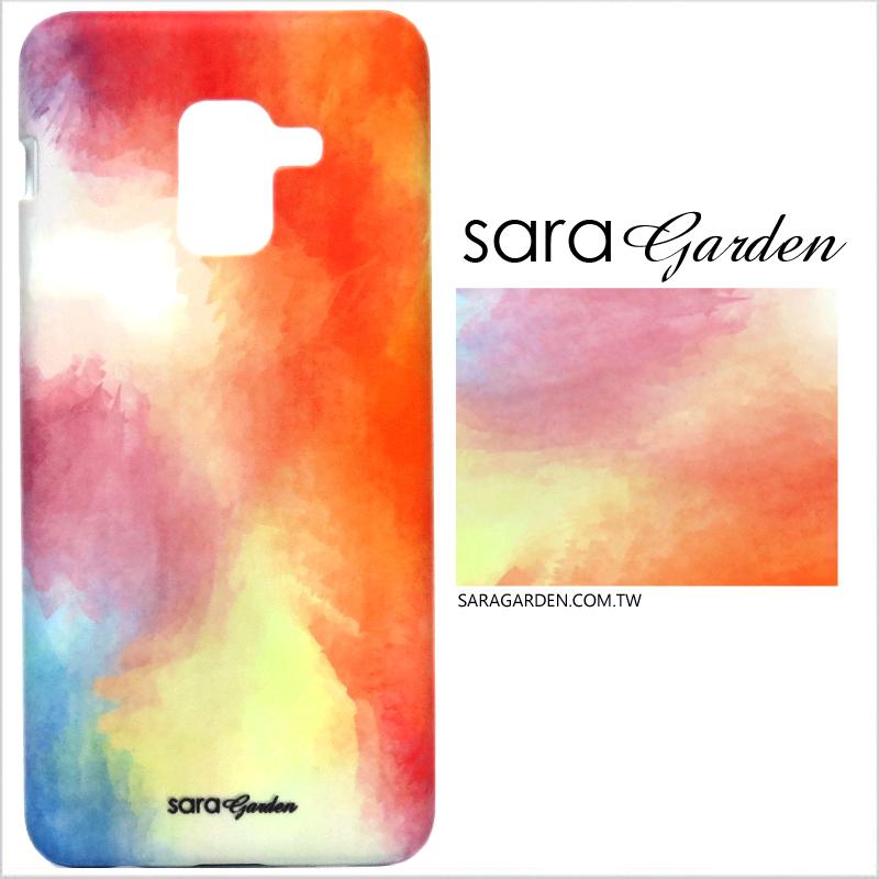 【Sara Garden】客製化 手機殼 ASUS 華碩 Zenfone5/5Z 6.2吋 ZE620KL ZS620KL 水彩漸層 手工 保護殼 硬殼