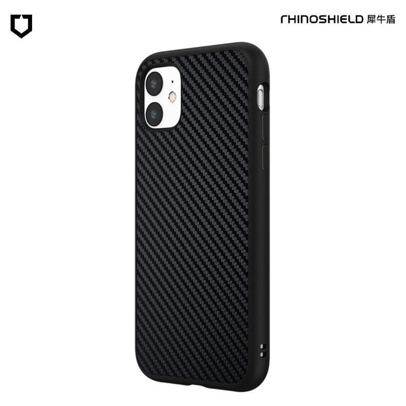 犀牛盾 SolidSuit 防摔背蓋手機殼 iPhone 11 6.1(2019) 黑碳纖