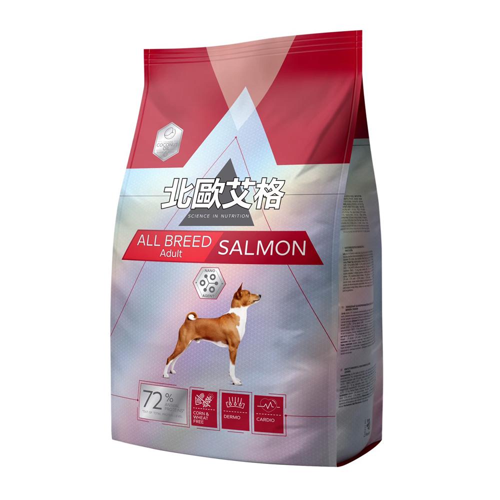 北歐艾格 中型成犬專用-鮭魚配方 2.8kg