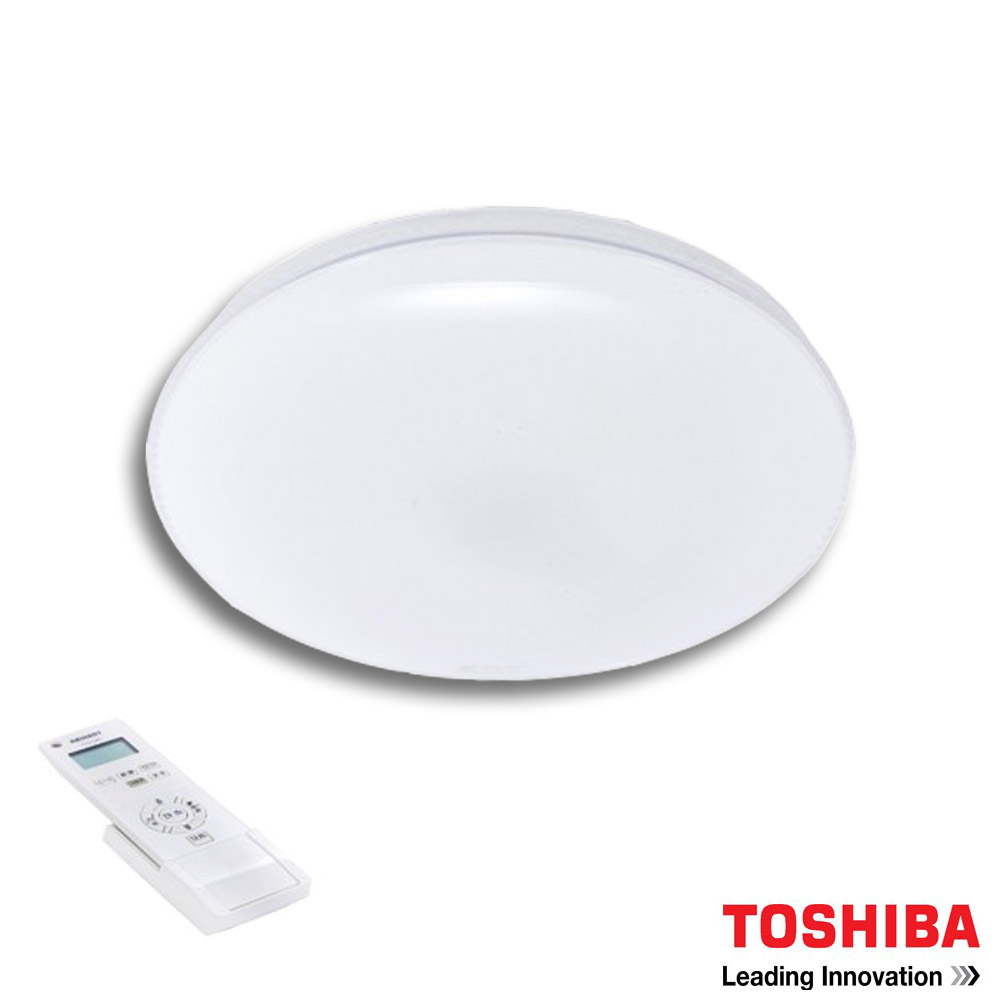 TOSHIBA 星爍 61W LED 調光美肌吸頂燈LEDTWTH61S